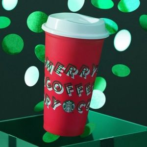 Limited Edition 2019 Merry Coffee Reusable cup